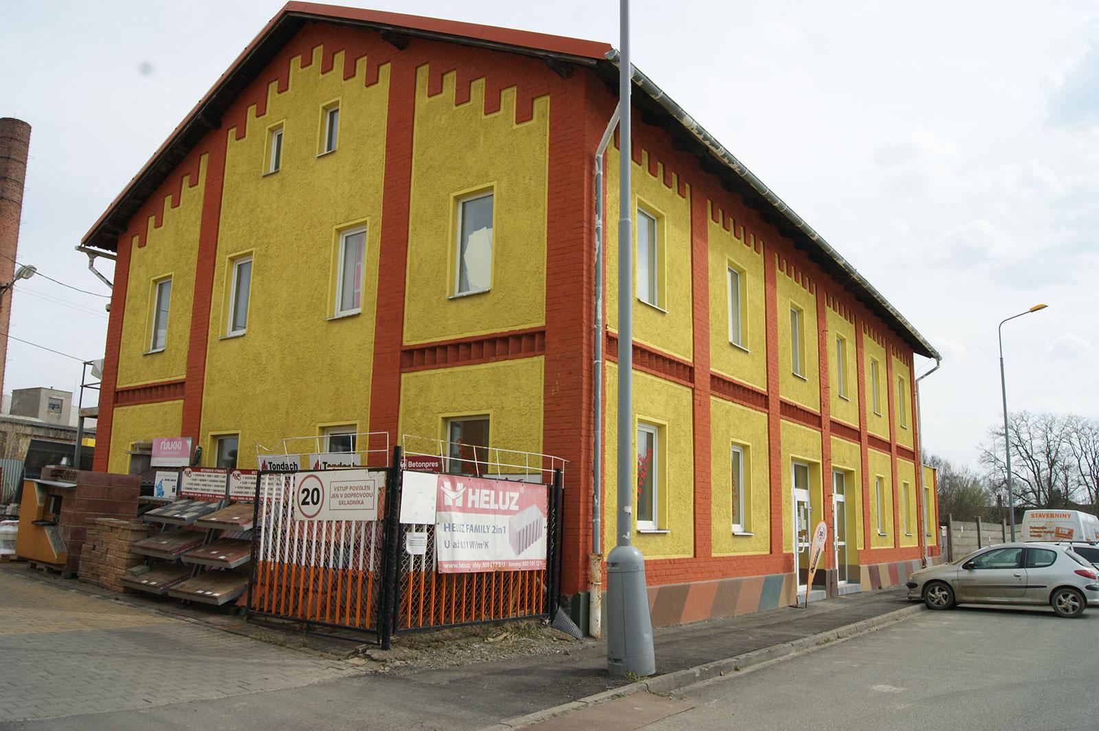 Horní Bříza - prodejna stavebnin