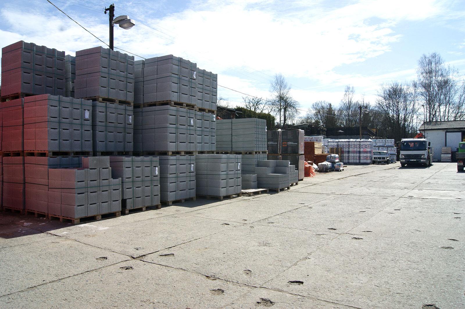 Stříbro - prodejna stavebnin