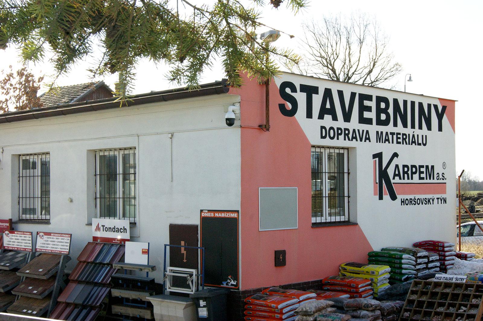 Bor u Tachova - prodejna stavebnin