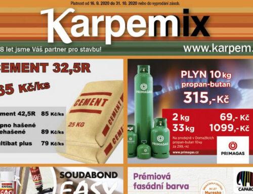 Letáková akce KarpeMIX aKarpemTIP od 16.9.2020