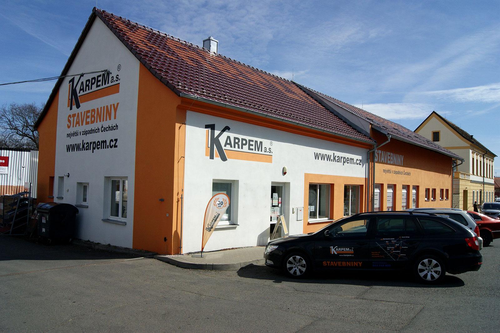 Stod - prodejna stavebnin